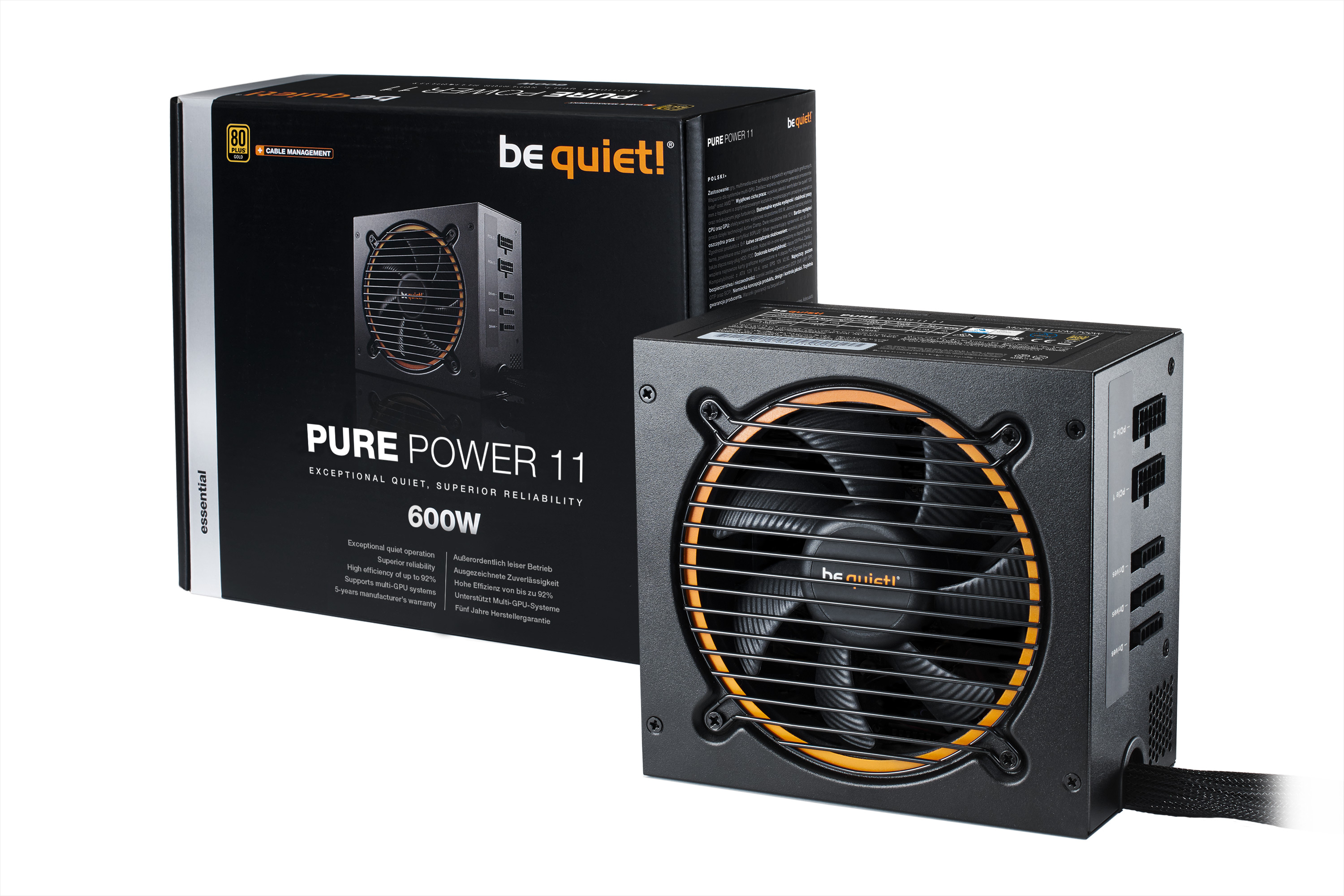 Be Quiet SYSTEM POWER 11 600W